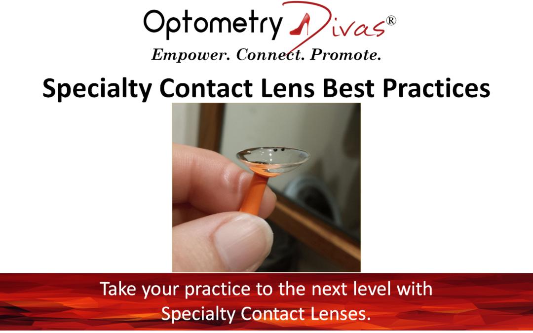 Scleral Lens Fitting Basics