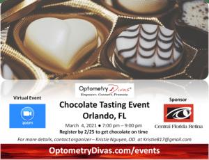 Orlando Chocolate Tasting Flyer